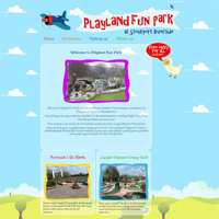 Playland Riverside Fun Park Stourport-on-Severn